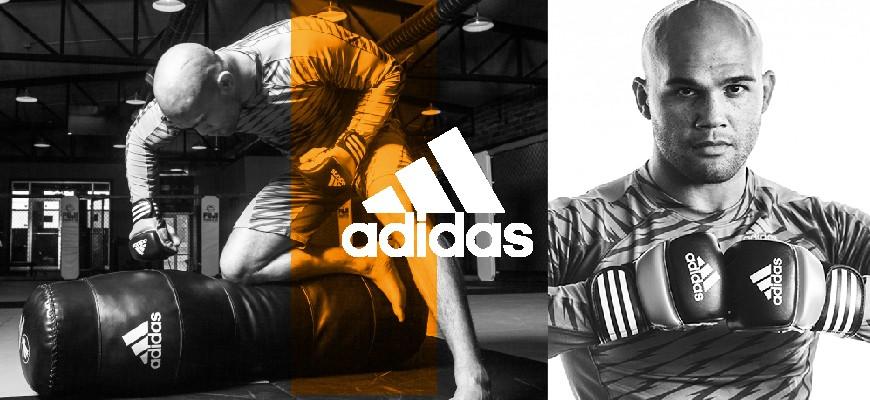 Rashguards et Shorts MMA adidas