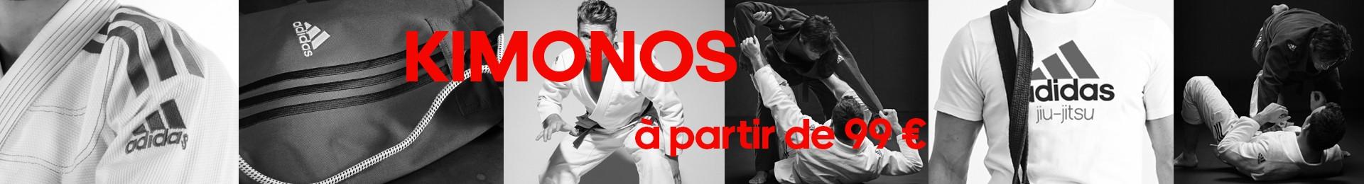 Les kimonos Jiu Jitsu brésiliens à partir de 99€
