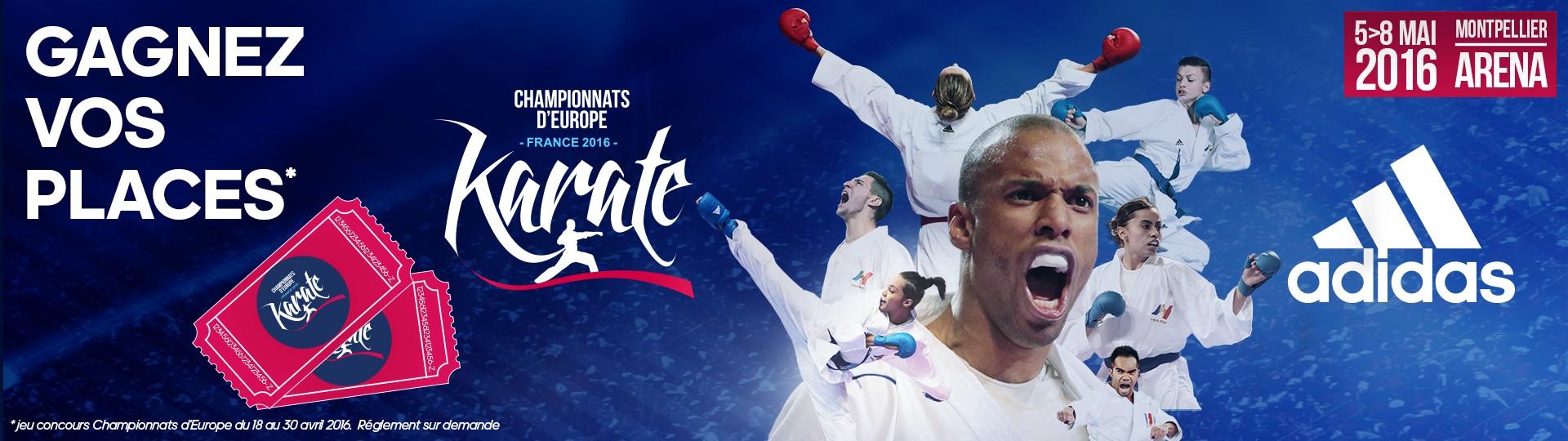 concours championnat d'Europe de karaté