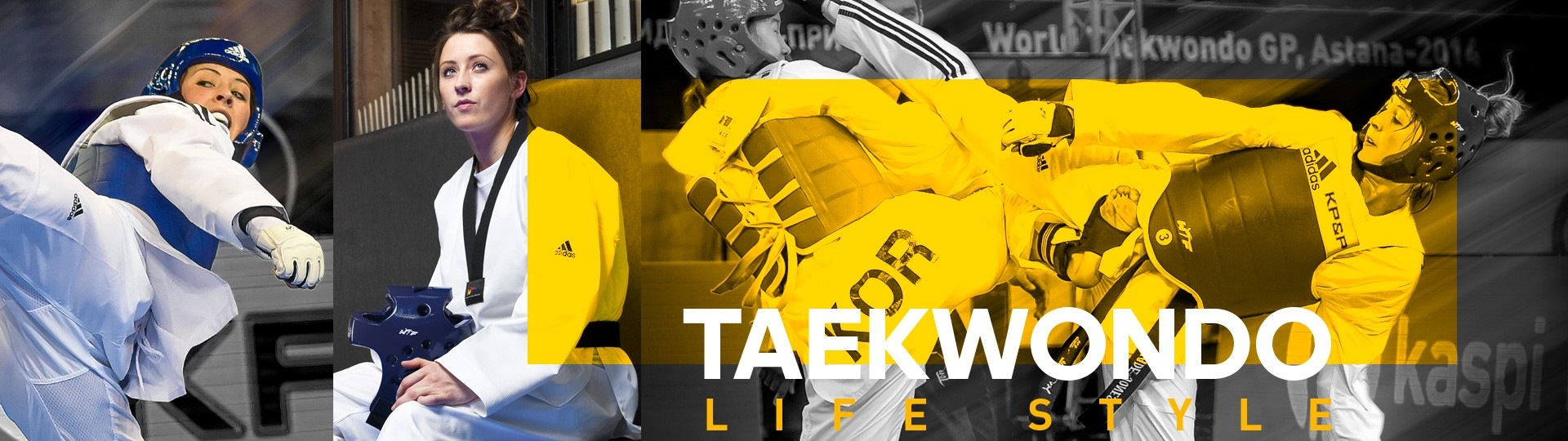 Toute la collection adidas taekwondo