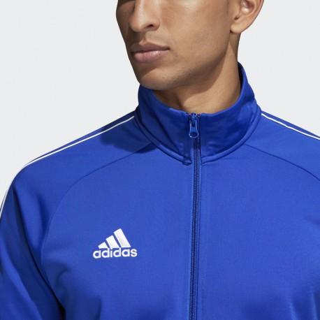 Veste de survêtement Slim bleu clair adidas