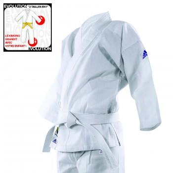 Kimono karaté EVOLUTIF adidas K200E