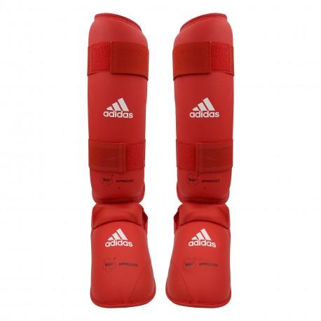 Protège tibia et pieds officiel WKF adidas