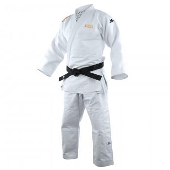 Kimono de judo QUEST Coeur + Epaule adidas