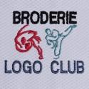 Personnalisation Kimono Coeur Logo club